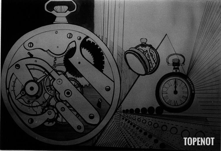 Le-Temps-Graphisme-encre-de-Chine-1973