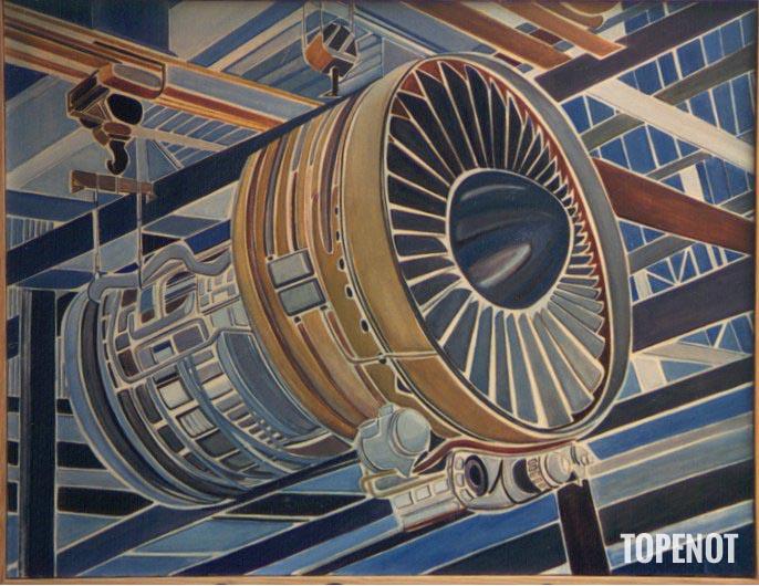 reacteur-Huile-sur-toile-1984-116x89