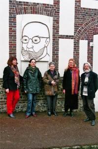 Francine Marcheteau, Aline et Nicole Pignard, Anael Topenot, Georges Kliemann, et Matisse