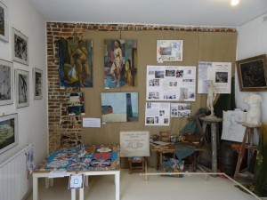 Aperçu de l'exposition en septembre 2014