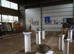 Exposition dans l'usine VFLI