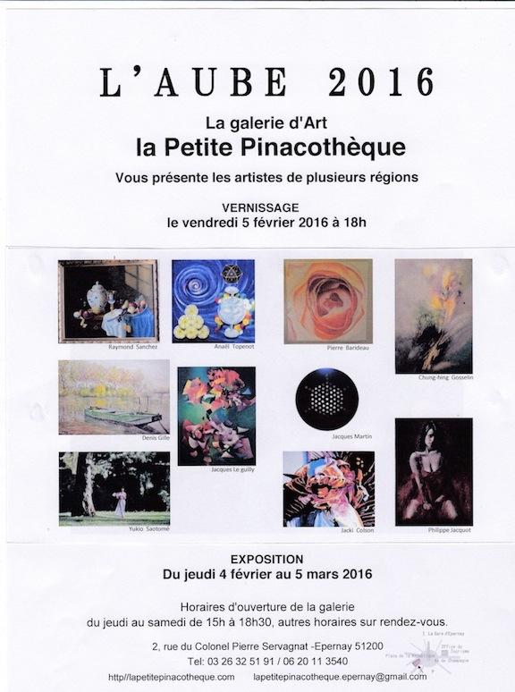 Pinacothèque-affiche