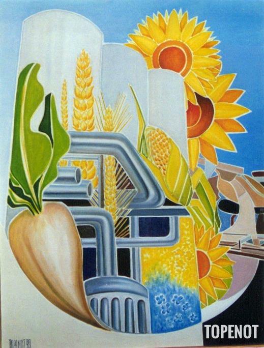 Agriculture-en-Champagne-Huile-sur-toile-1993-116x89