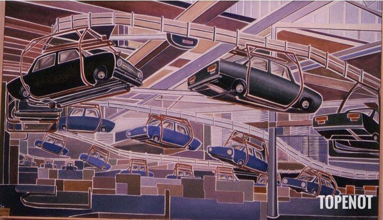 Chaine-de-montage-auto-Huile-sur-toile-1984-195x114