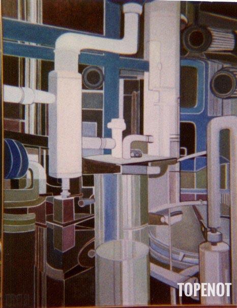 La-Recherche-Huile-sur-toile-1981-146x97