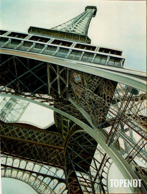 Tour-Eiffel-Huile-sur-toile-1989-116x89