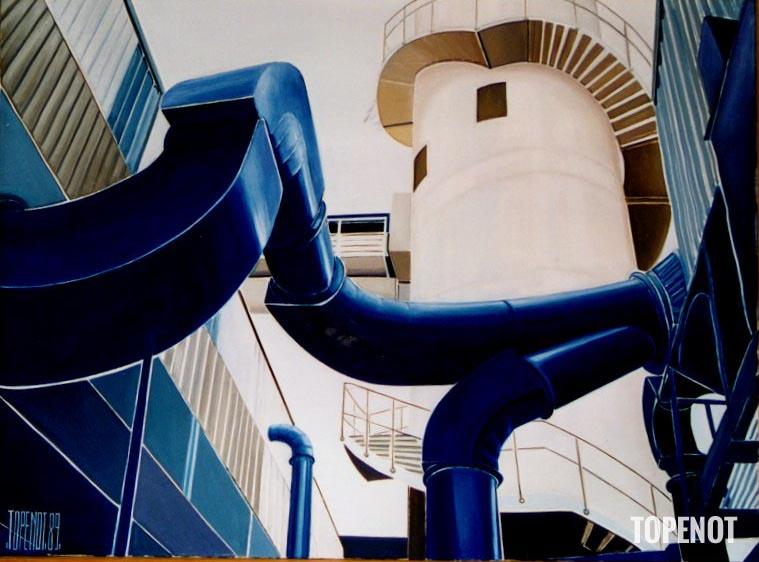 Usine-Porcher-Huile-sur-toile-1989-100x73